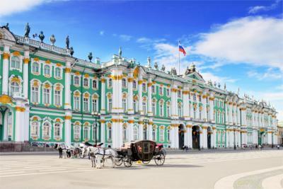 Berühmter Palast in Sankt Petersburg