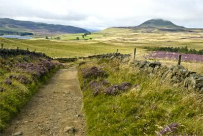 Die Lowlands in Schottland