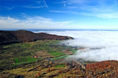 Nebel über der Schwäbischen Alb