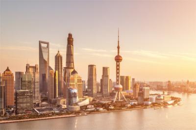 Hochhausmeer Shanghai