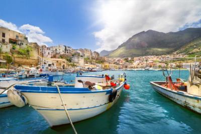 Küstenort auf Sizilien