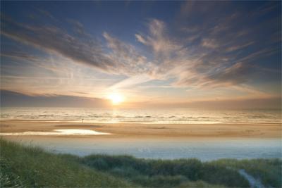Strandlandschaft in Jütland