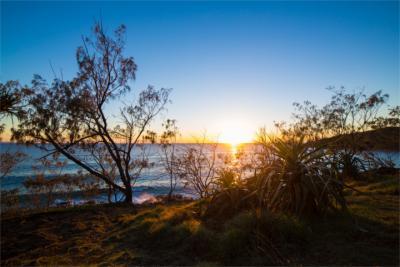Naturlandschaft an der Sunshine Coast