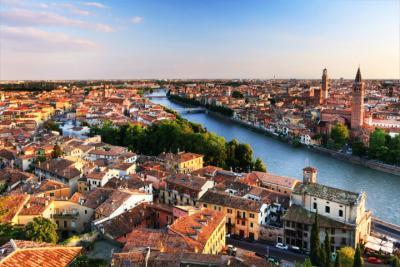Ausblick auf Verona