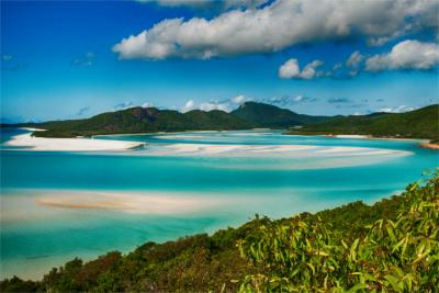 Sandstrand in Queensland