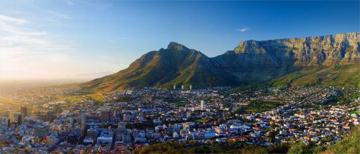 Kapstadt und der Tafelberg in Südafrika