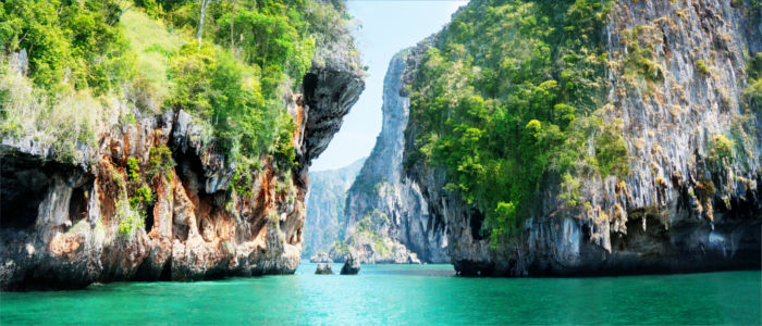 Thailands Landschaft