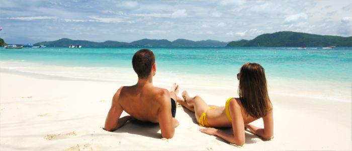 Entspannen im Urlaub in Thailand