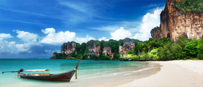 Railay Strand in Krabi, Thailand