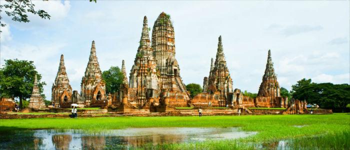 Tempelanlage Wat Chai Watthanaram