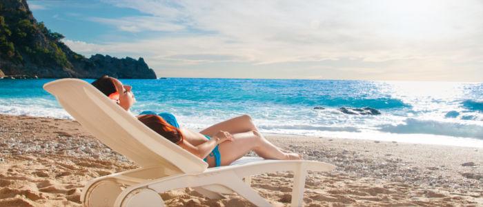 Urlaub in der Türkei am Meer