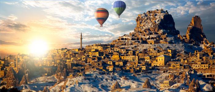 Kappadokien in Zentralanatolien, Türkei