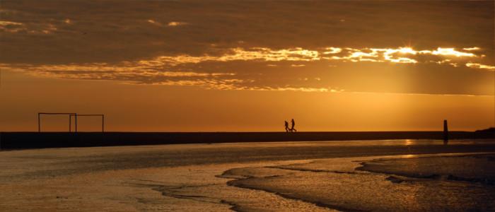 Am Strand in Uruguay