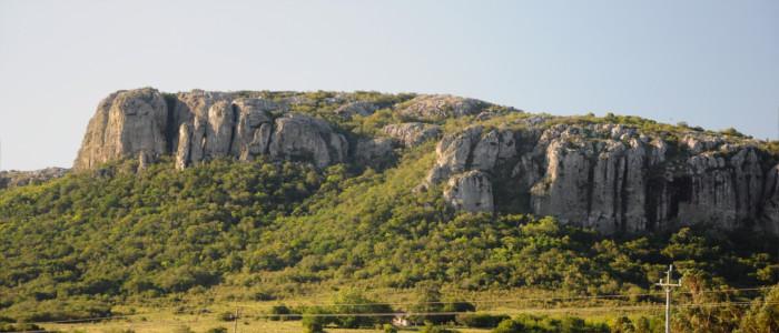 Berge in Uruguay