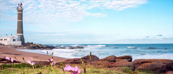 Strand von Uruguay