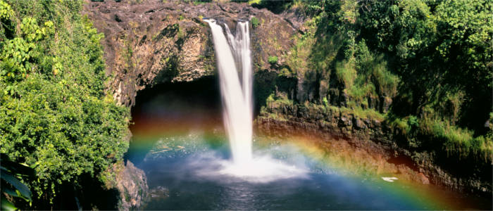 Wasserfall in Hawaii