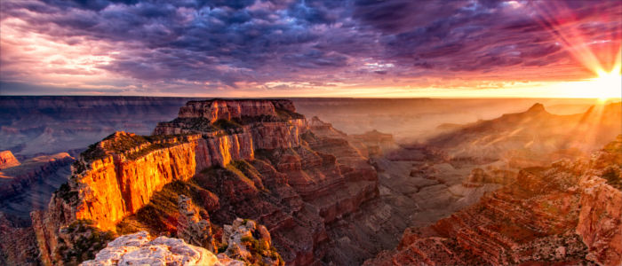 Naturschönheit Grand Canyon in den USA
