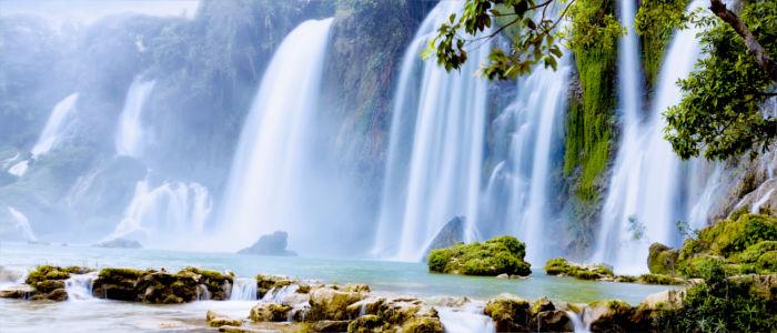 Ban Gioc Wasserfall in Vietnam